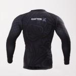 Рашгард Kayten Sport Дракон Черный (длинный рукав)