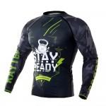 Рашгард Kayten Sport Stay Ready Зеленый (длинный рукав)